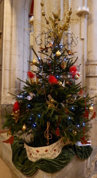 Ottery Choral Society Tree in Church Festival